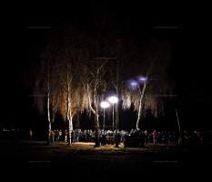 Gorleben, Castor, Demonstration, Nacht,Polizei