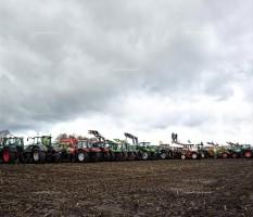 Gorleben, Castor, Demonstration, Traktor, Himmel, Feld