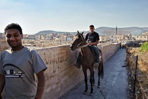 Fluechtlingslager, Pferd, Bewohner
