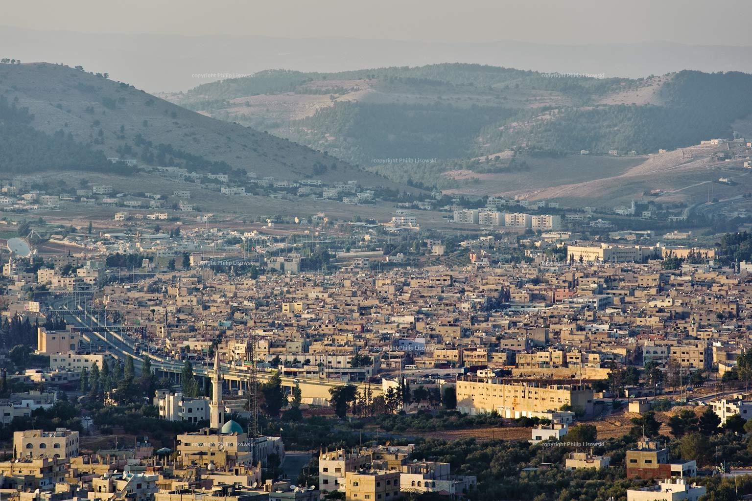 Baqaa Fluechtlingslager in Amman, Jordanien