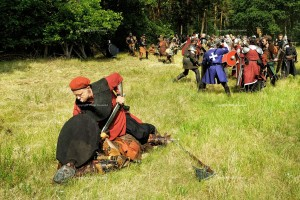 Live Action Role Playing, LARP, Kampf, Schwert, Ritter, Monster