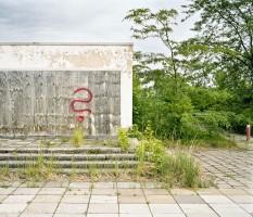 Ruine eines Einkaufszentrums in Schwedt Oder Deutschland